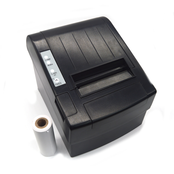Cash register receipt thermal printer