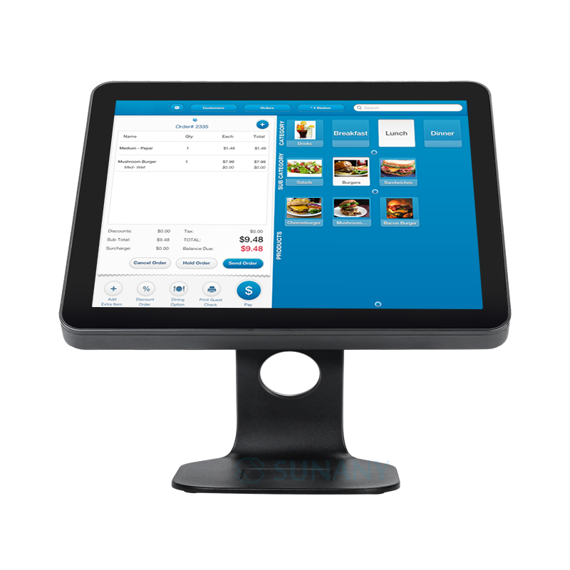Large screen display pos systems