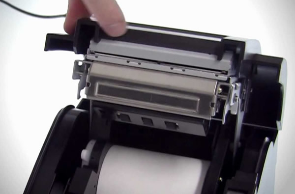 The automatic paper cutting is not accurate when the 3inch thermal printer is working